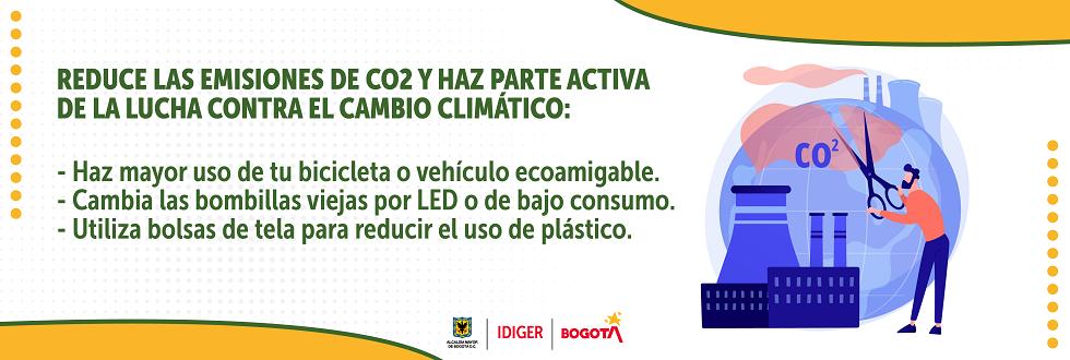 Reduce las emisiones de CO2